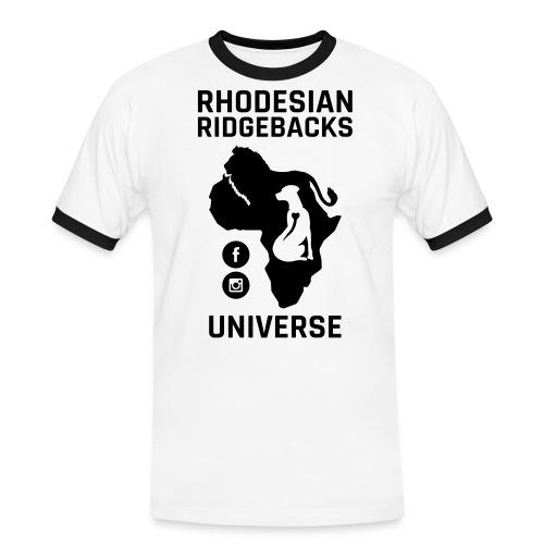 RRU - Kontrast-T-shirt herr