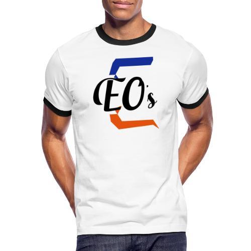 Logo peter - T-shirt contrasté Homme