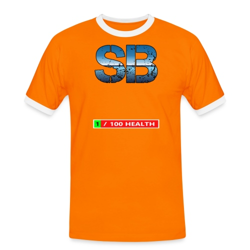 Health Tee Oh Shiiet! - Herre kontrast-T-shirt
