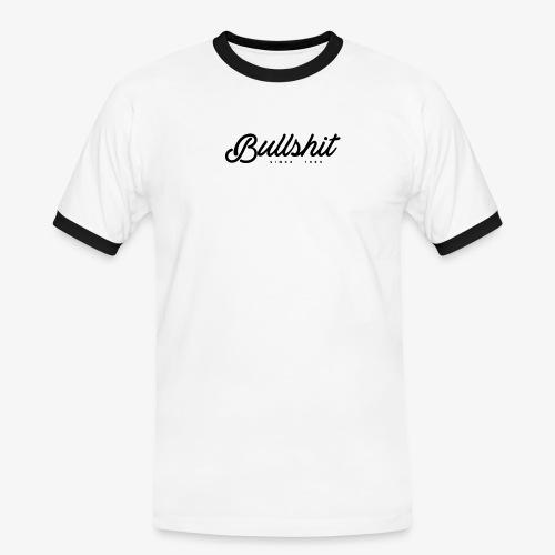 Bullshit depuis 1999 noir - T-shirt contrasté Homme