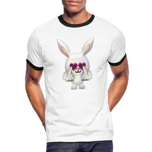 Lapin F*** - T-shirt contrasté Homme
