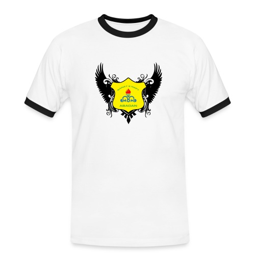 Sanat black bird - Men's Ringer Shirt