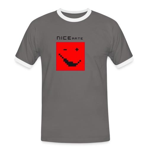 nicearte r - T-shirt contrasté Homme