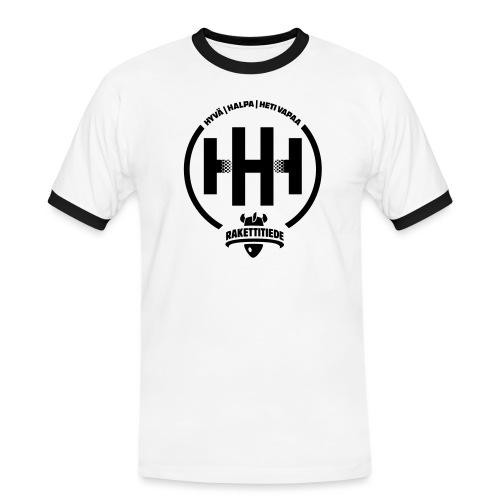 HHH-konsultit logo - Miesten kontrastipaita