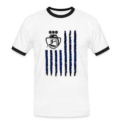 DRAGSTER WEAR - Maglietta Contrast da uomo
