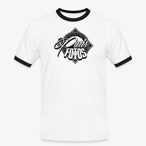 Logo - Männer Kontrast-T-Shirt