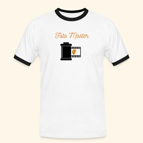 Foto Master 2nd - Herre kontrast-T-shirt