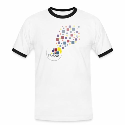 EBmooc T Shirt neutral - Männer Kontrast-T-Shirt