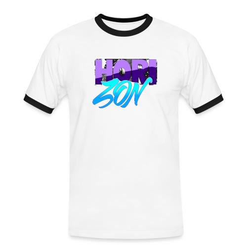 Horizon - T-shirt contrasté Homme