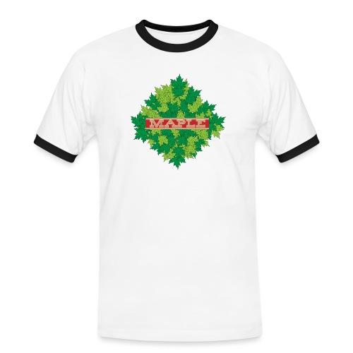 maple - Männer Kontrast-T-Shirt