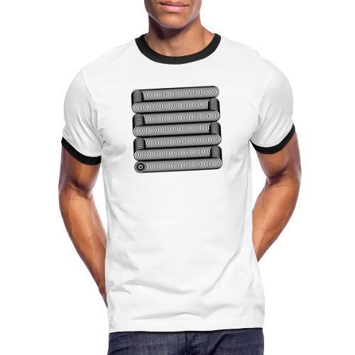 Wavesnake - Mannen contrastshirt