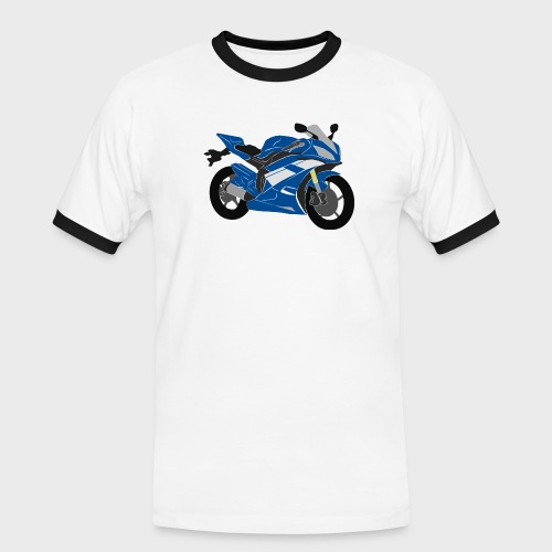 R6NICK Bike - Men's Ringer Shirt