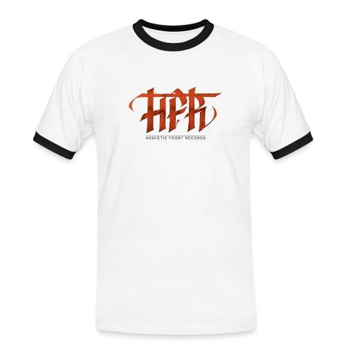 HFR - Logotipo fatto a mano - Maglietta Contrast da uomo