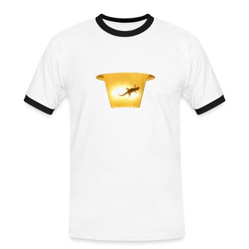 t shirt 8 gif - Männer Kontrast-T-Shirt
