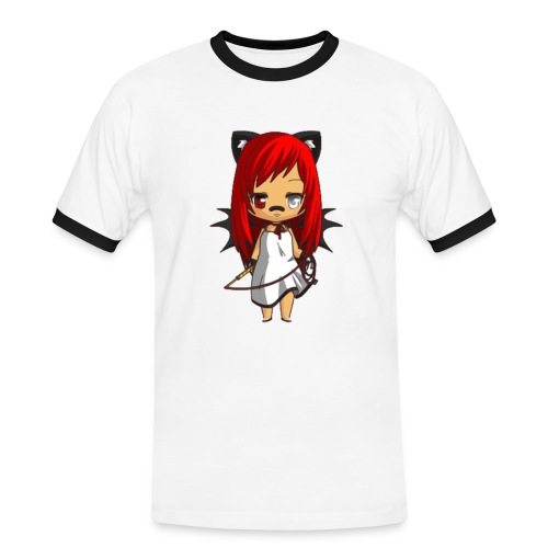 Chibi Alia by Calyss - T-shirt contrasté Homme