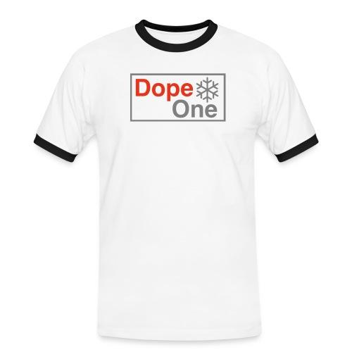 Dope One - Männer Kontrast-T-Shirt