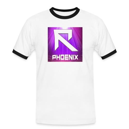 RTrixx Phoenix Logo - Men's Ringer Shirt