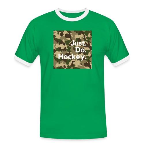 Just.Do.Hockey 2.0 - Mannen contrastshirt