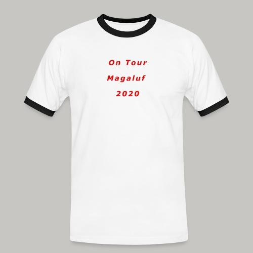 On Tour In Magaluf, 2020 - Printed T Shirt - Men's Ringer Shirt