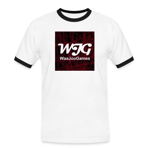 T-shirt WJG logo - Mannen contrastshirt
