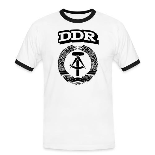DDR T-paita - Miesten kontrastipaita