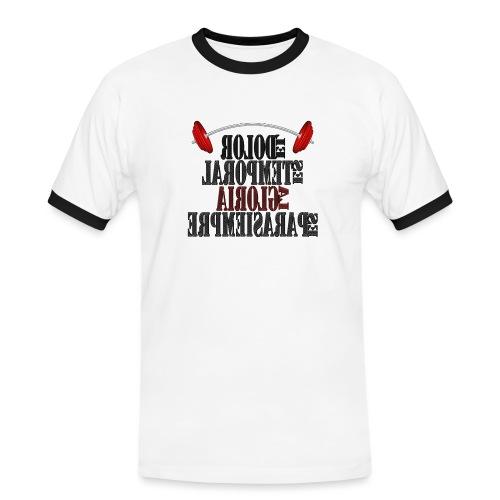 Para el Espejo: GYM - DOLOR TEMPORAL - Camiseta contraste hombre