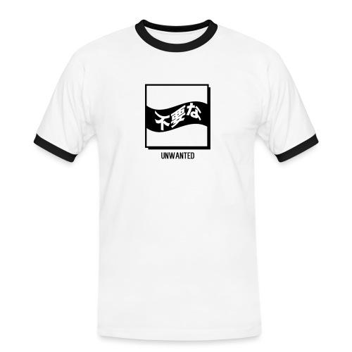 UNWANTED Japanese Tee White - Men's Ringer Shirt