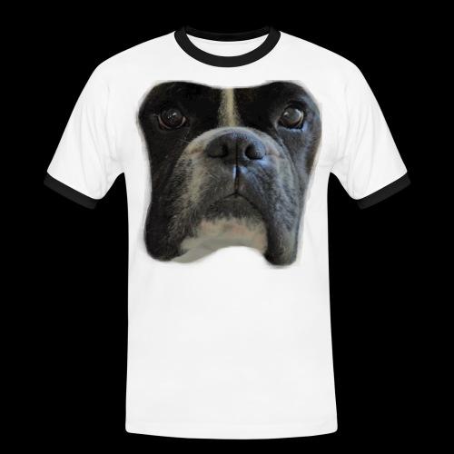 boxer big face - Men's Ringer Shirt