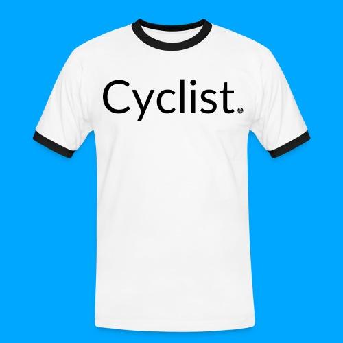 cyclist - Männer Kontrast-T-Shirt