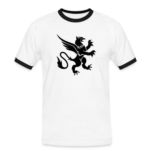 GRIF - Herre kontrast-T-shirt
