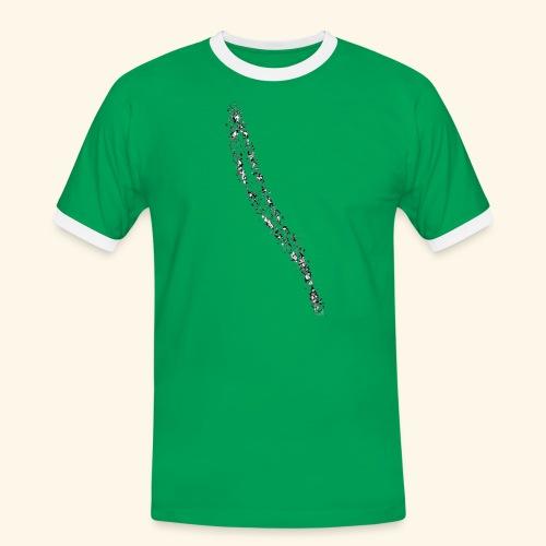 Muster_18 - Männer Kontrast-T-Shirt