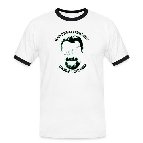 ColesterolNee - Maglietta Contrast da uomo