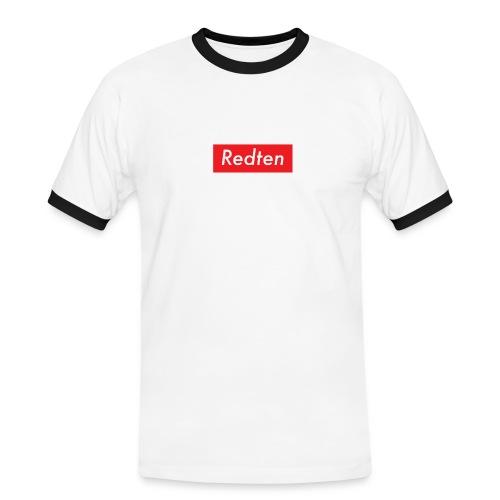 supredten - T-shirt contrasté Homme