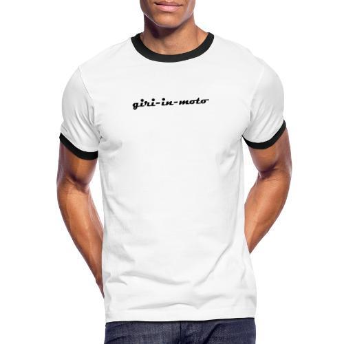 GIRI IN MOTO LIFESTYLE RACING NERO - Maglietta Contrast da uomo