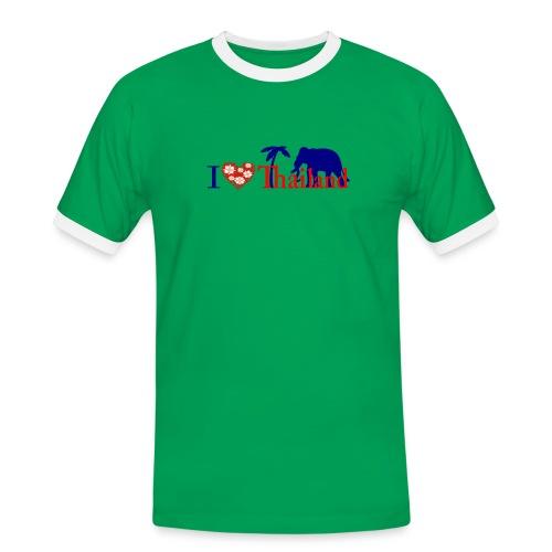 I love Thailand - Men's Ringer Shirt