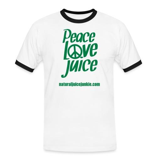 Peace Love Juice - Men's Ringer Shirt