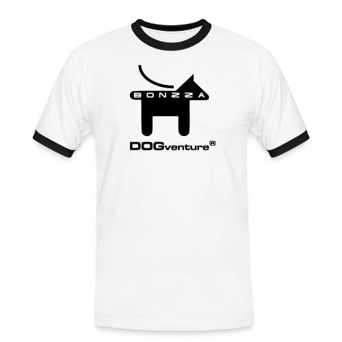 logokeinschattenklein - Männer Kontrast-T-Shirt