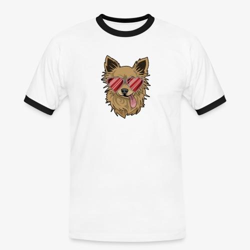 Cool Engla - Kontrast-T-shirt herr