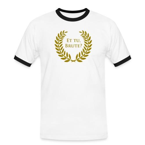 Chique cap - Mannen contrastshirt
