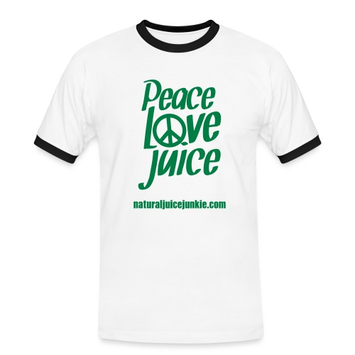 Peace Love Juice - Men's Ringer Shirt