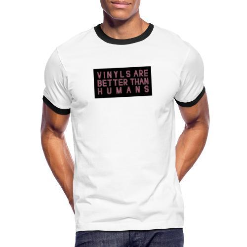 better than humans - Camiseta contraste hombre