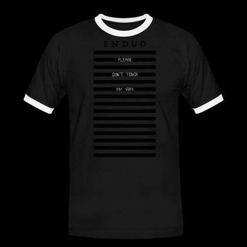 PLEASE DON'T TOUCH - T-shirt contrasté Homme