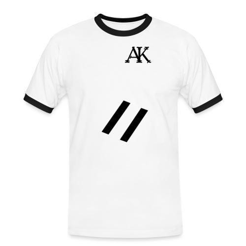 design tee - Mannen contrastshirt