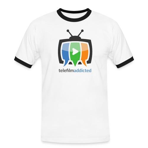 Telefilm Addicted Logo - Maglietta Contrast da uomo