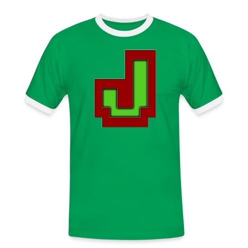 Stilrent_J - Herre kontrast-T-shirt