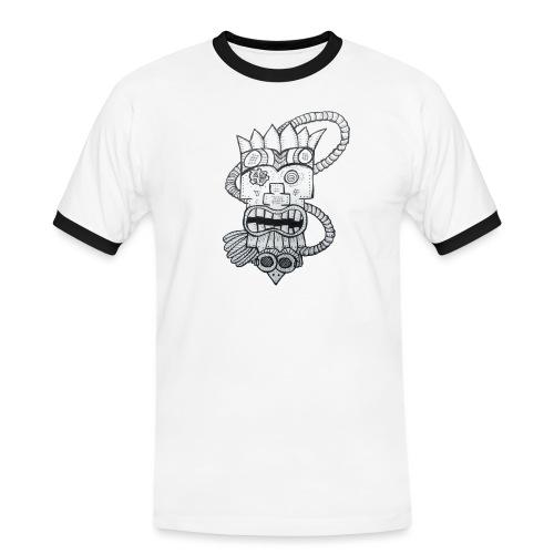SteamTiki - T-shirt contrasté Homme