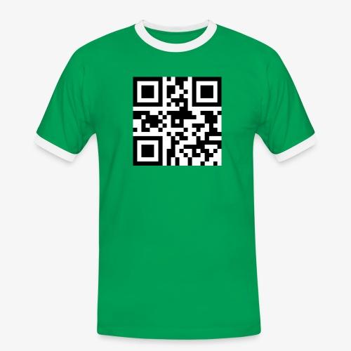QR Code Unique - Men's Ringer Shirt