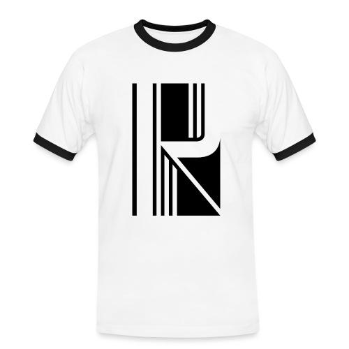 Motif en K - T-shirt contrasté Homme