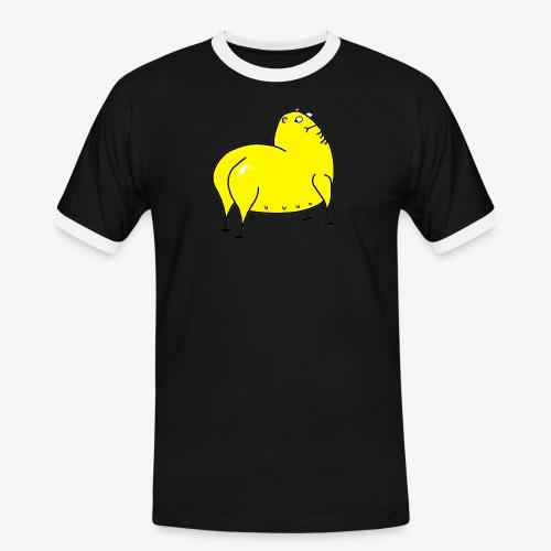 Grunk - Kontrast-T-shirt herr