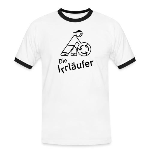 irre - Männer Kontrast-T-Shirt